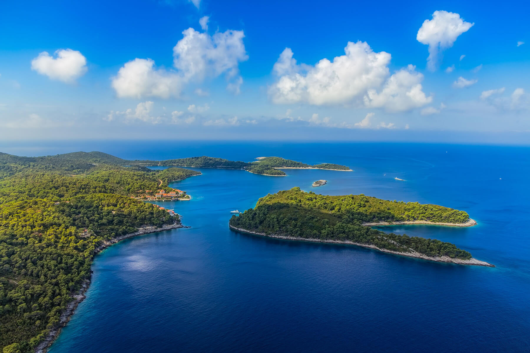 Sail on Odysseus Trail and Explore Captivating Island of Mljet, Ogygia