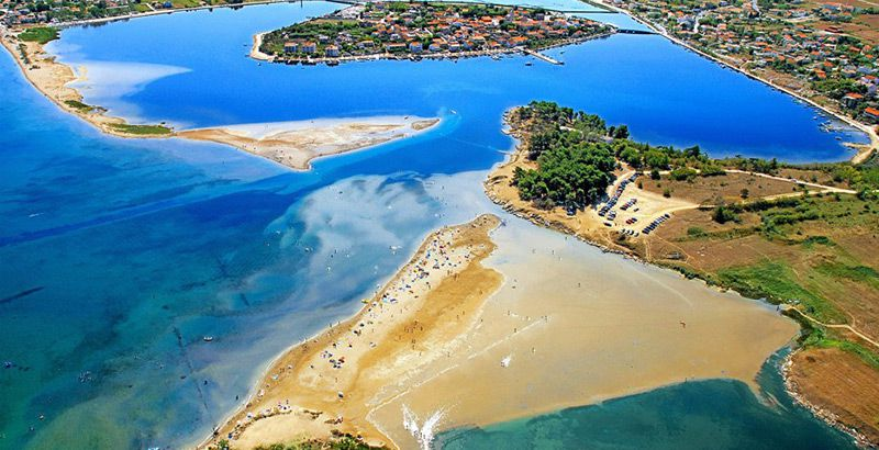 nin queens beach croatia