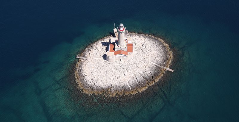 Porer Lighthouse Istria