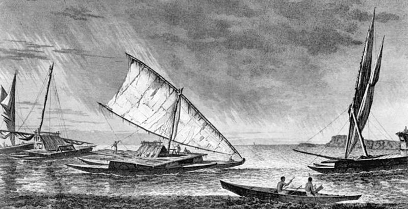 History of catamarans