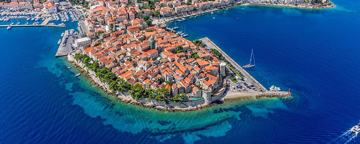 7 Day Active Sailing Itinerary: Day 5: Korčula