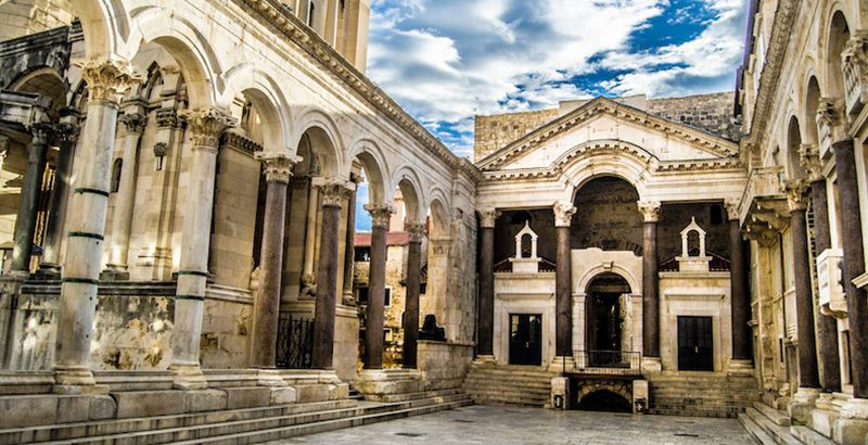 top-sailing-destinations-Split-Diocletians-palace