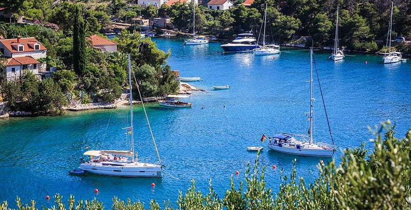 Family friendly sailing destinations in Croatia -Brac, Bobovisca