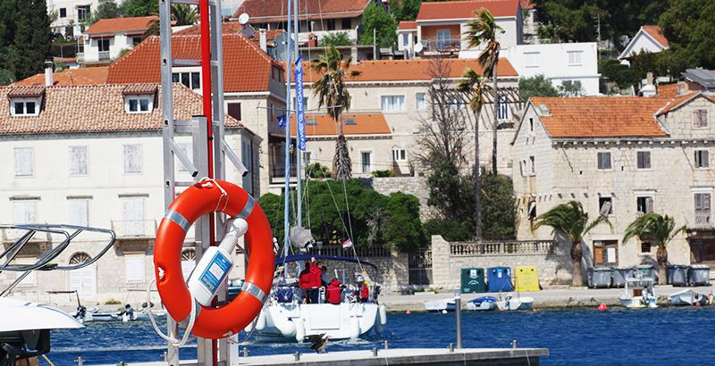 Family friendly sailing destinations in Croatia - Milna Brac