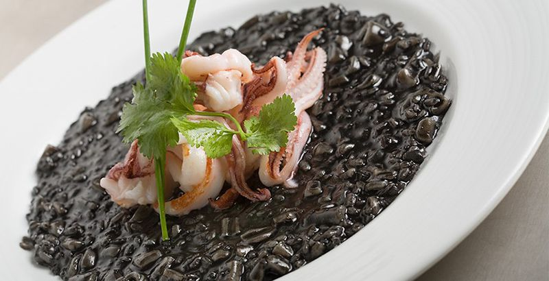 Croatian food guide: black risotto