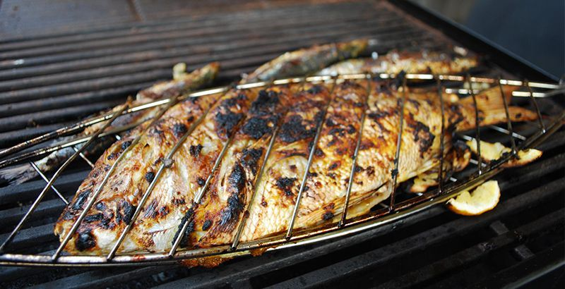 Croatian food guide: fish from the grill