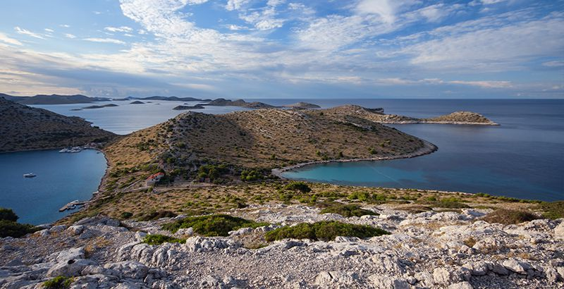 Kornati offer clear sea for swimming and snorkeling