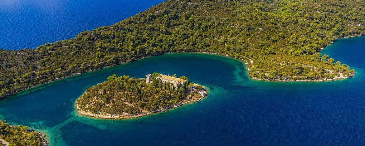 Captivating Beauty of Island of Mljet Croatia