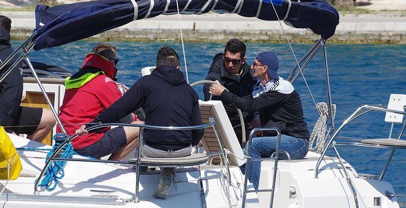 Want to learn about sailing - Ask the skipper