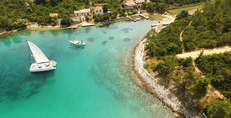 Family Friendly Sailing Location Island Scedro Hvar