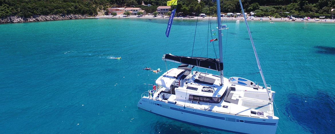 Catamarans Croatia July 2018