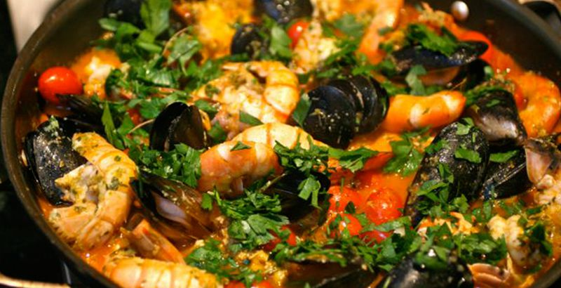 Croatian cuisine - Brodet Fish Stew Recipe