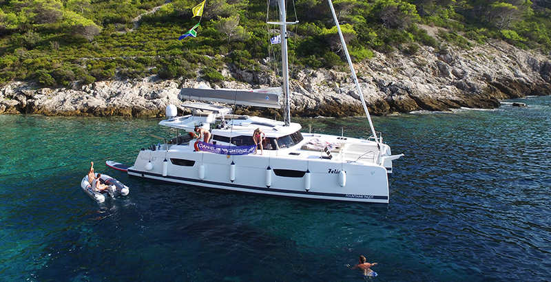 Catamaran Croatia