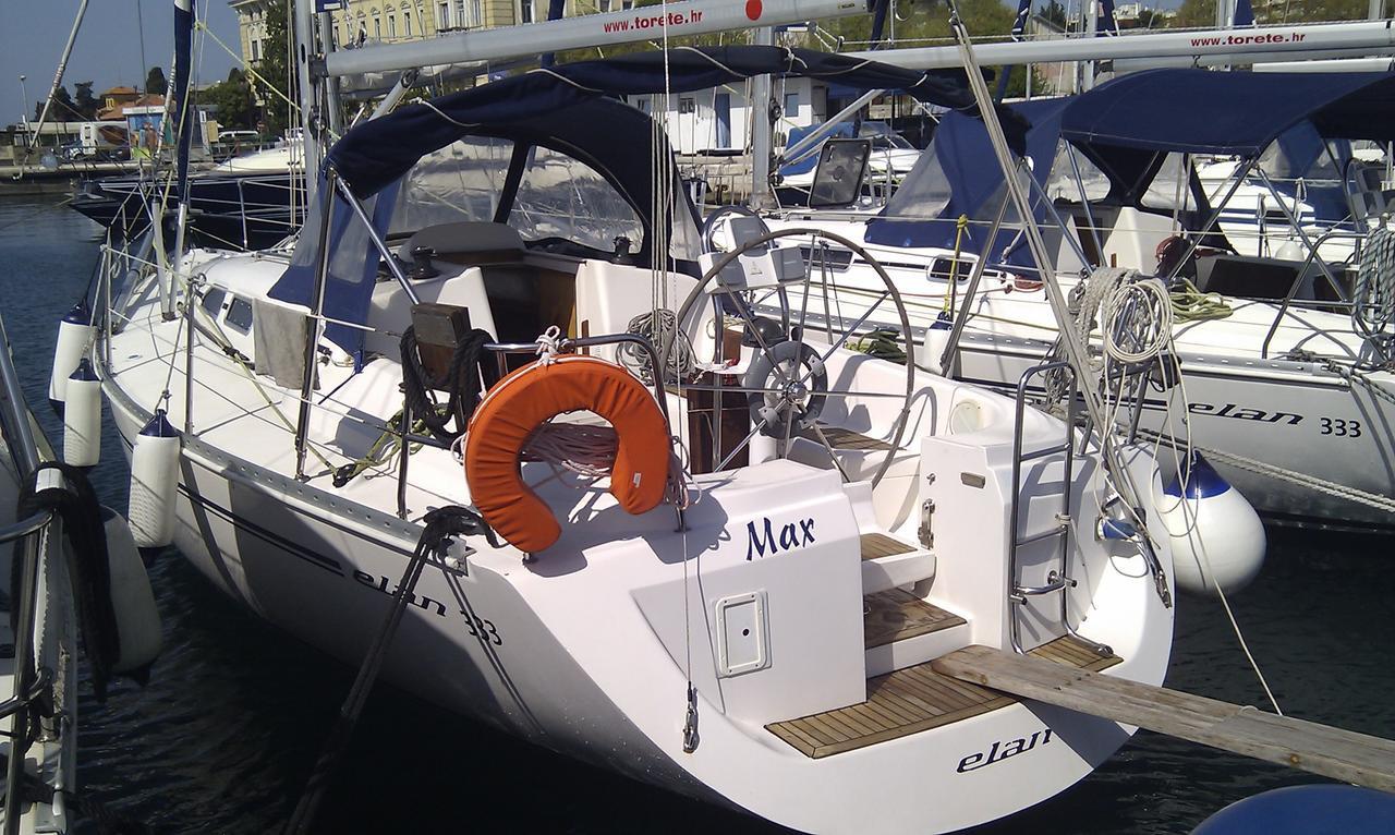 Elan 333 Zadar Tankerkomerc Max Charter Barche Croazia