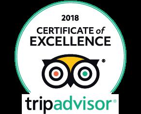 TripAdvisor Winner 2018