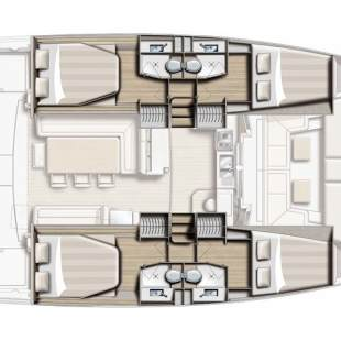 Catamarans Bali 4.1 - 4 + 2 cab. Ocean Dream