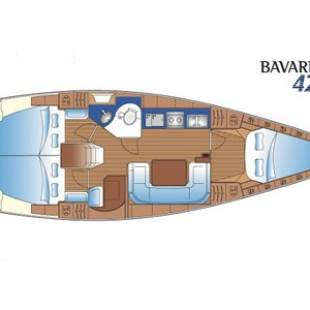 Sailing yachts Bavaria 42 Match New York