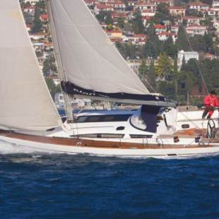 Sailing yachts Elan 450 Performance Septima Vector