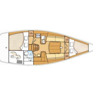 Sailing yachts First 35 Capricorn