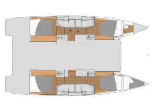 Catamarans Fountaine Pajot Elba 45 SUN OFFICE