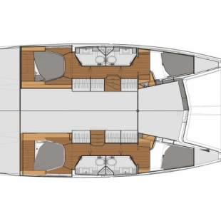 Catamarans Fountaine Pajot Lucia 40 Shanti