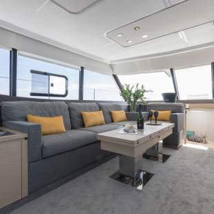Catamarans Fountaine Pajot MY 44 - 3 + 1 cab. Fusion