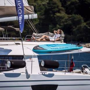 Catamarans Fountaine Pajot Saba 50 - 6 + 1 cab Princess Aphrodite (crewed)
