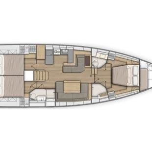 Sailing yachts Oceanis 51.1 - 3+1 cab. Cloudy Bay