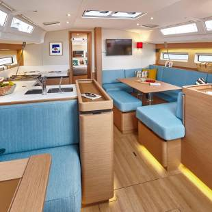 Sailing yachts Sun Odyssey 490 - 5 + 1 cab. New 2019