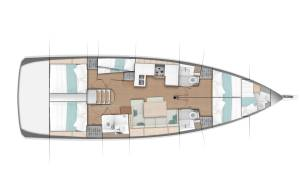 Sailing yachts Sun Odyssey 490 - 5 + 1 cab. Smooth Operator