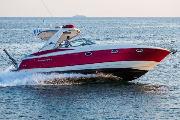 Motor boats Monterey 375 SY Red Dragon