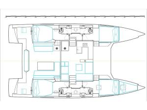 Catamarans Nautitech 46 Fly Sithonia