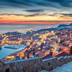 Dubrovnik's sunset