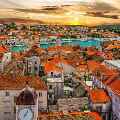 Sunset in Trogir
