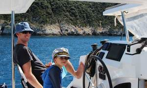 Sailing across Croatia with a baby or a toddler