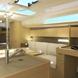 Sailing yachts Dufour 350 GL Alcyone