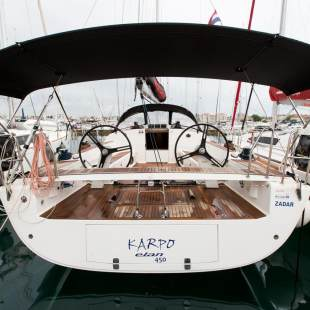 Sailing yachts Elan 450 Performance Karpo