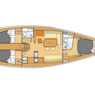 Sailing yachts First 45 Carmenta