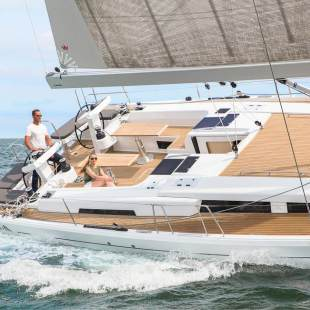 Sailing yachts Hanse 548 - 5 + 1 cab. Simply The Best
