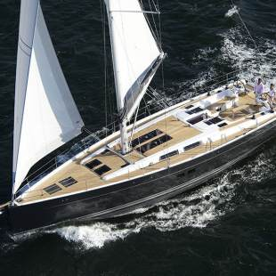 Sailing yachts Hanse 575 - 4 + 1 cab. Super Girl