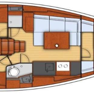 Sailing yachts Oceanis 38 - 3 cab. Olli