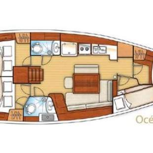 Sailing yachts Oceanis 43