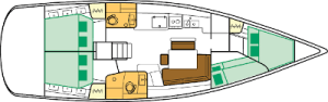 Sailing yachts Oceanis 46 - 4 cab. Victoria